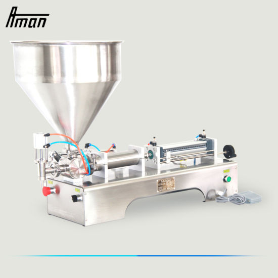 Automatic Cream/Peanut Butter/Oil/Jam/ Viscous Liquid Bottling Machine Tomato Paste Hot Sauce Honey Jar Ketchup Bottle Filling Capping Labeling Machine