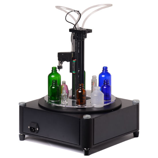 Automatic E Liquid/Cbd Unscramble Filling Capping Labeling Machine for Boston Plastic Jar Bottles